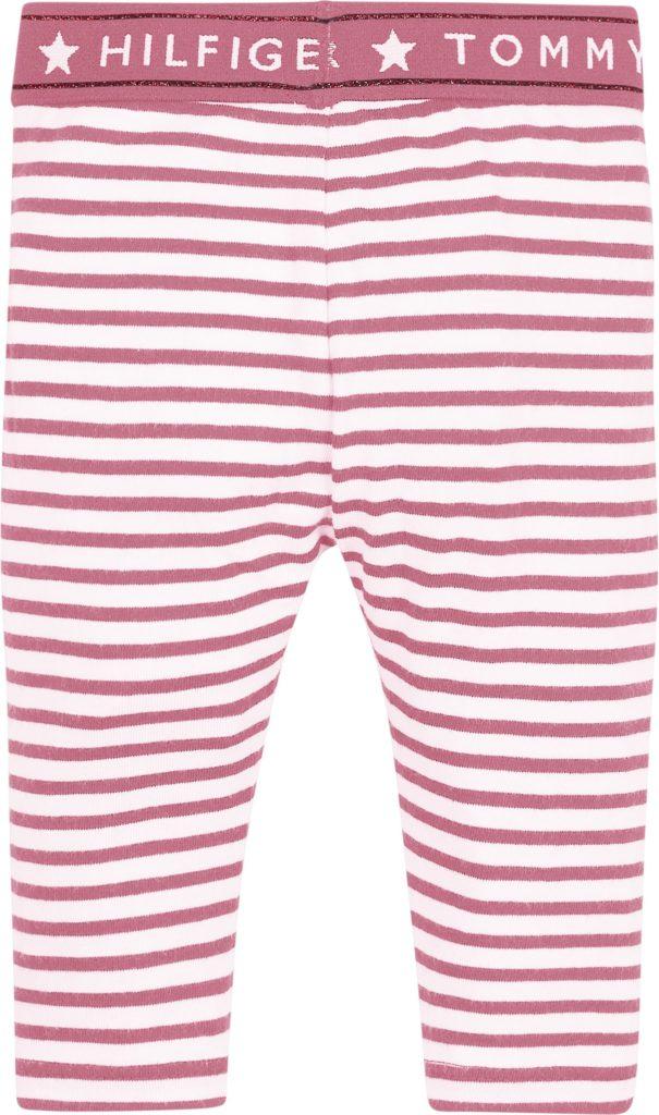 Tommy Hilfiger, baby tommy leggings pinkki