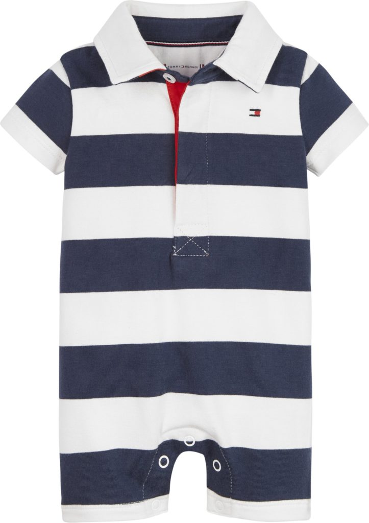 Tommy Hilfiger, Baby rugby stripe shortsipuku