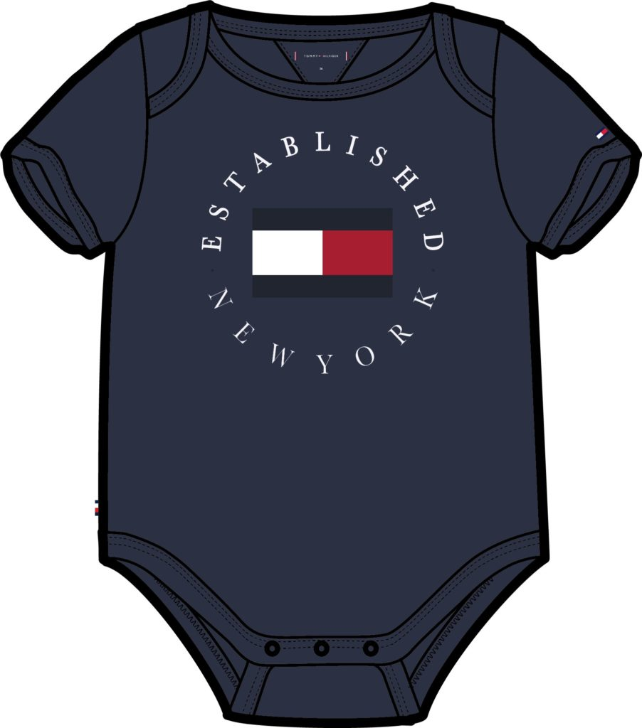 Tommy Hilfiger, baby established body navy