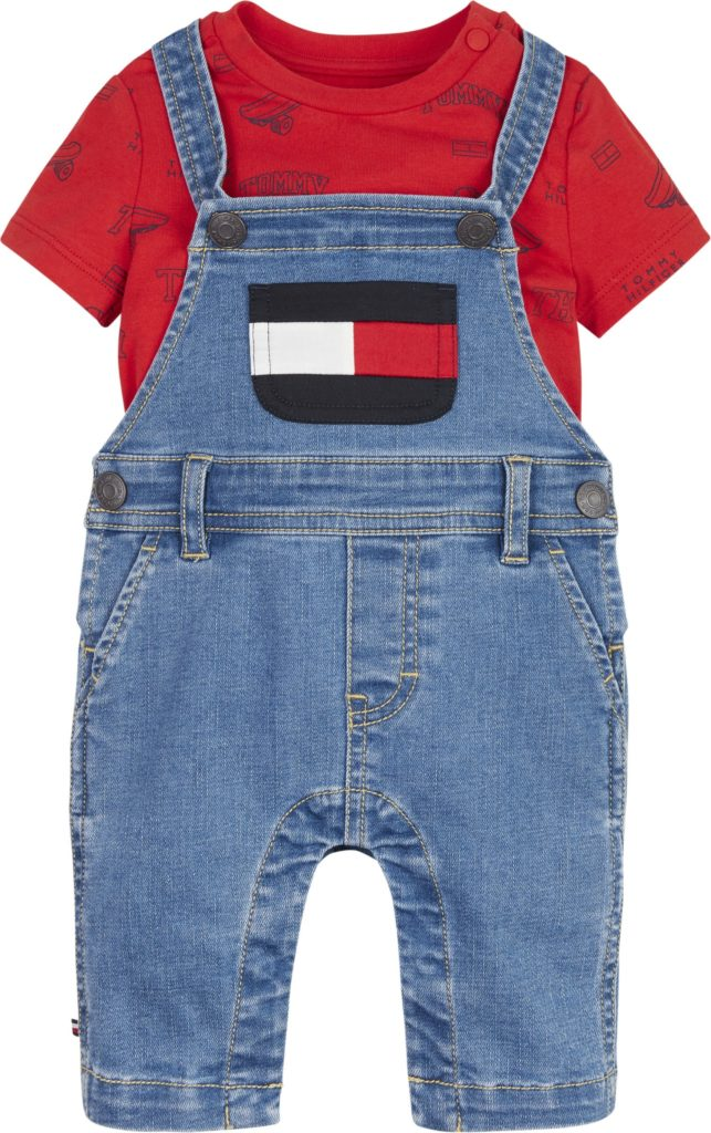 Tommy Hilfiger, Baby Tommy dungaree haalarisetti
