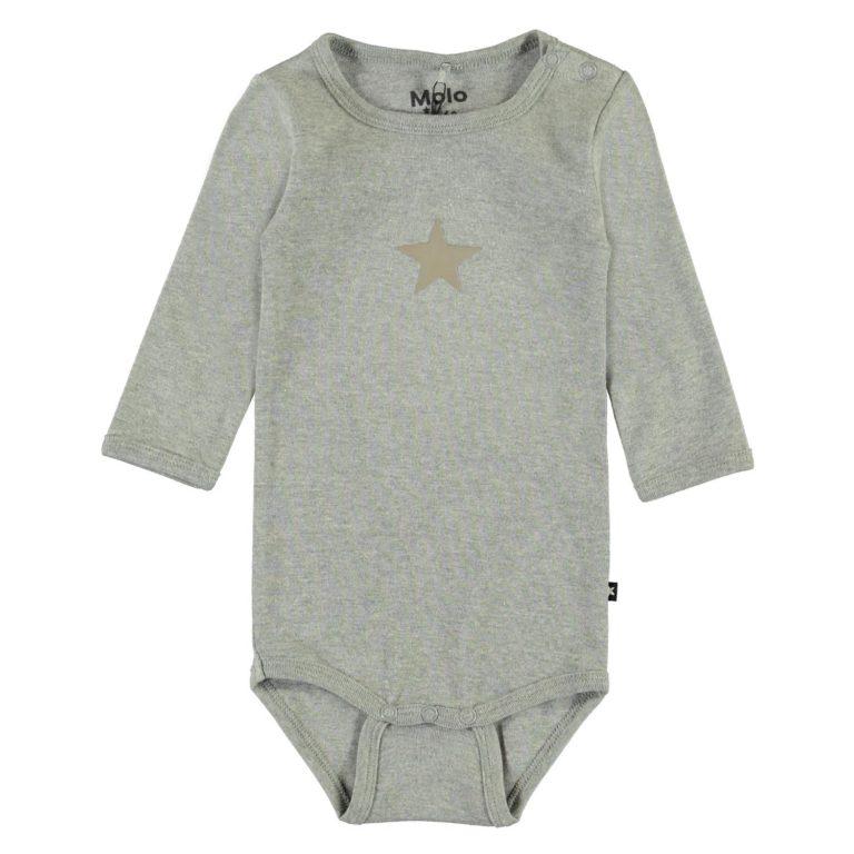 Molo Kids, Foss tähtibody, harmaa