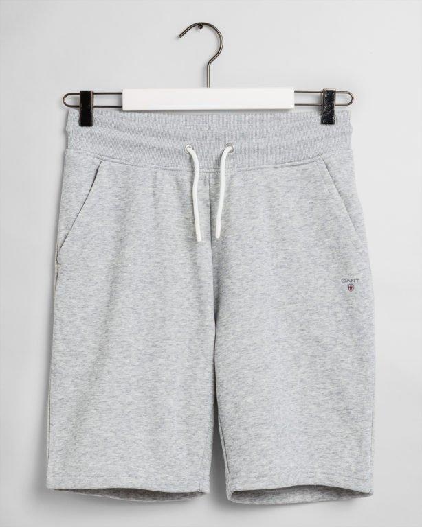 Gant, The Original sweat shorts,  collegeshortsit nuorille harmaa