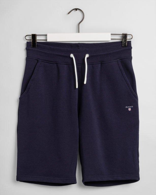 Gant, The Original sweat shorts,  collegeshortsit nuorille sininen