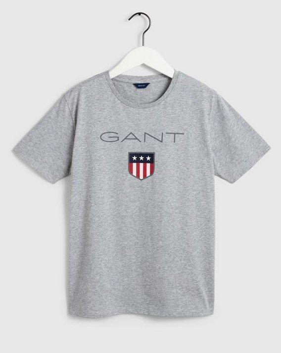 Gant, Nuorten shield ss t-paita, harmaa