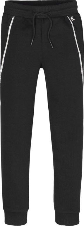 Calvin Klein, Logo piping sweatpants, musta