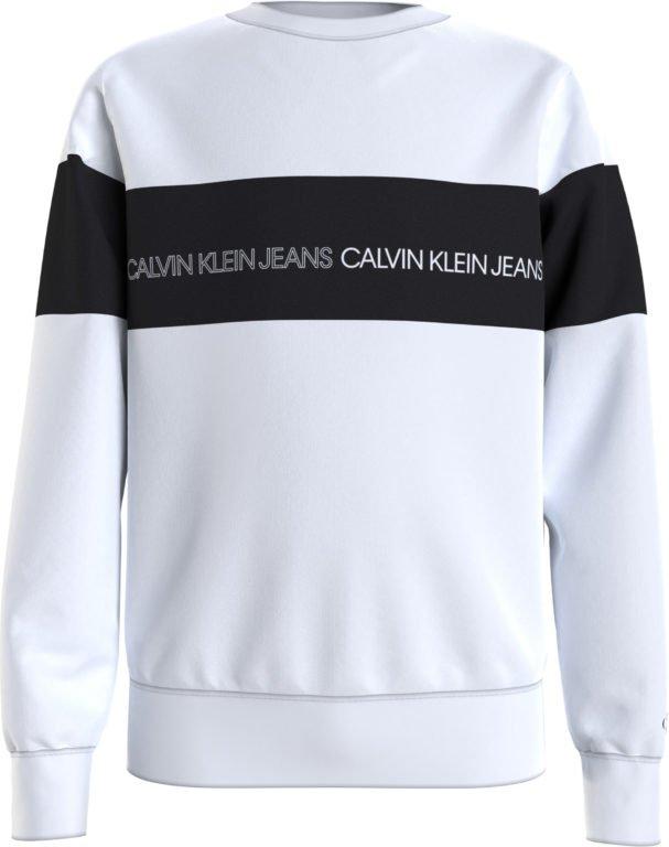 Calvin Klein, colour block logo collegepaita