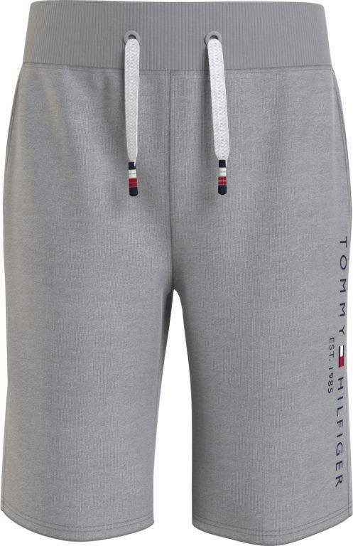 Tommy Hilfiger, Essential sweatshorts college shortsit 92cm-122cm, harmaa