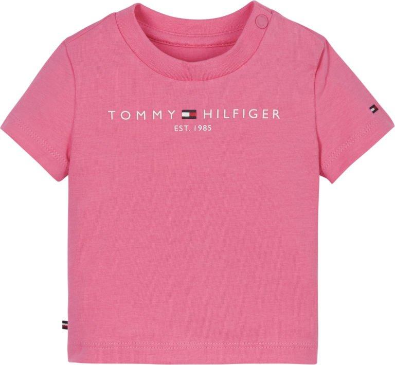 Tommy Hilfiger, baby essential tee ss, pinkki