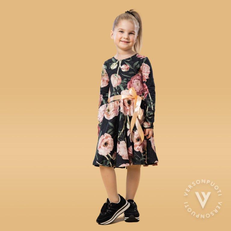 Verson Puoti, Fiftari mekko jaloleinikki, musta/roosa