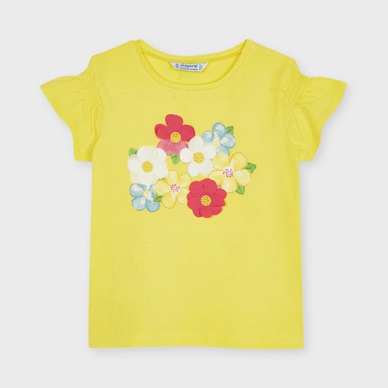 Mayoral, t-paita printillä, keltainen