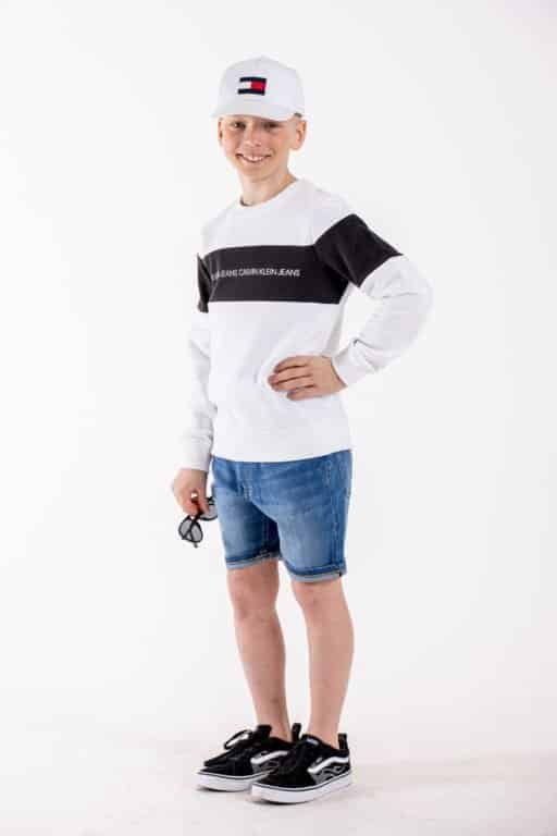 Calvin Klein, Regular shortsit, blue star