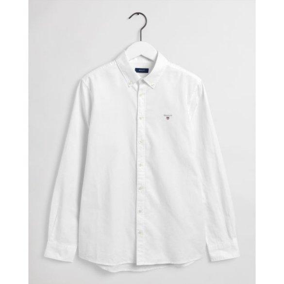 Nuorten Gant, tu. Archive oxford b.d. shirt kauluspaita, valkoinen