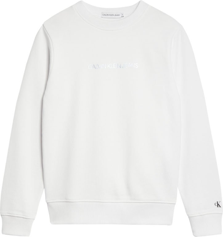 Calvin Klein, Metallic logo collegepaita valkoinen