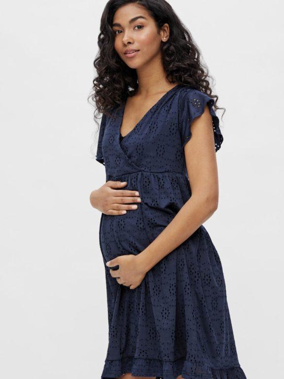 Mamalicious, Denise mekko odottavalle ja imetykseen, tummansininen