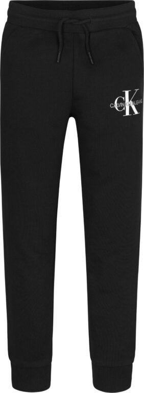 Calvin Klein, Monogram logo collegehousut, musta