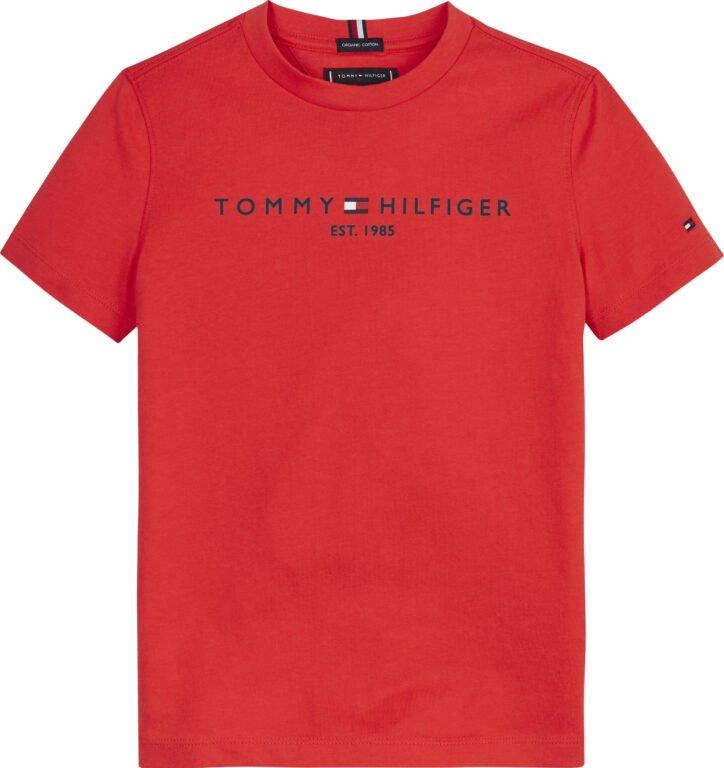 Tommy Hilfiger, essential s/s t-paita, punainen