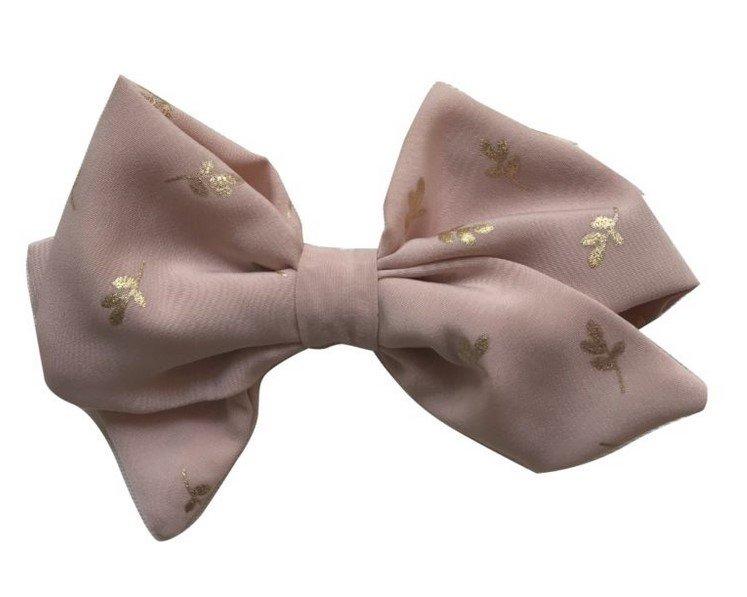 Julie Dausell rusettipanta, vaalaeanpunainen nude