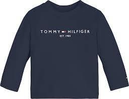 Tommy Hilfiger Baby essential tee LS, tummansininen