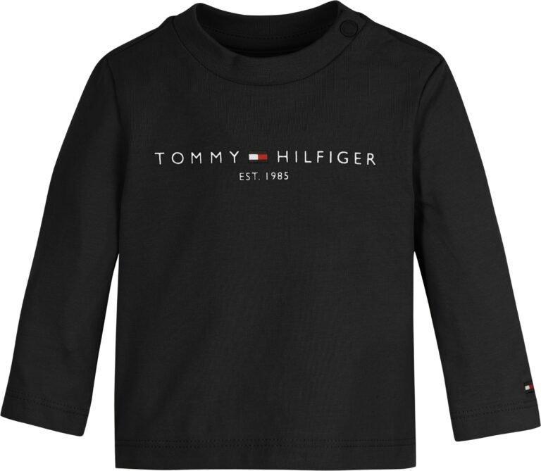 Tommy Hilfiger Baby essential tee LS musta