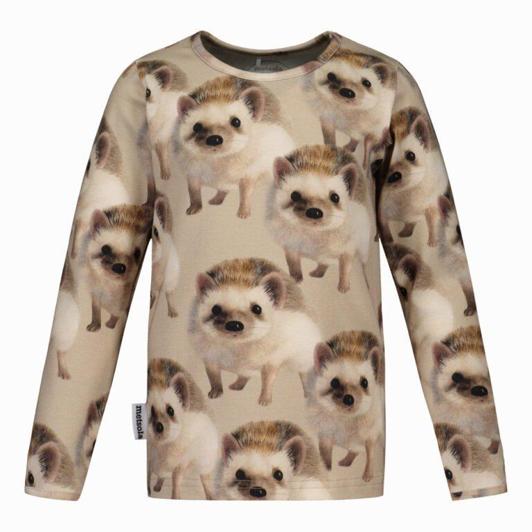 Metsola Hedgehog shirt almond