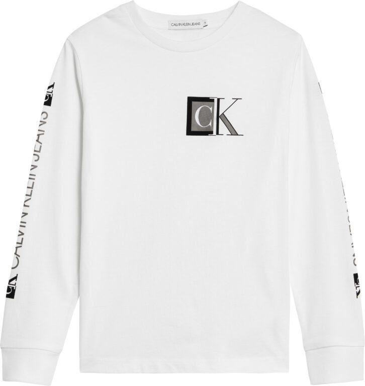 Calvin Klein, Block monogram ls paita