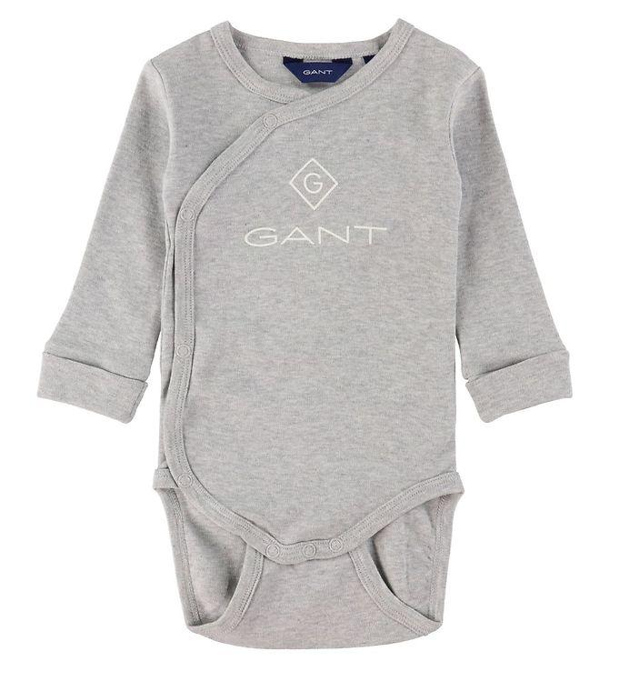 Gant, Lock-up organic cotton body, Harmaa