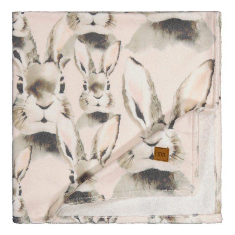 Metsola Baby towel, Bunny 75x75, vauvan pyyhe